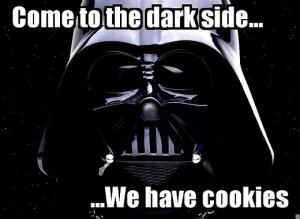 Vader cookies
